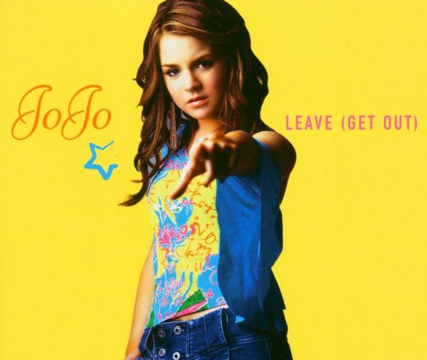 """Cover image of singer Jojo from her song """"Leave"""""""