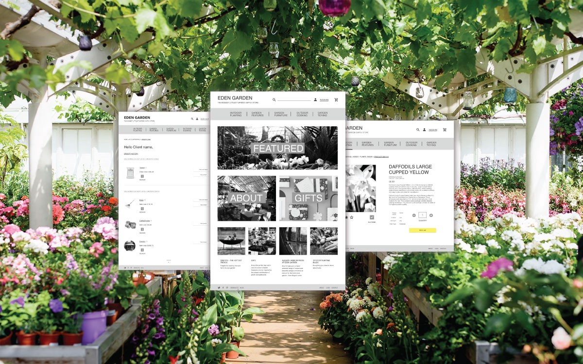 Eden Garden A Ux Case Study An E Commerce Site For An Independent By Genevieve Smith Medium