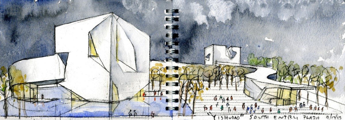 Steven Holl's World Of Watercolours
