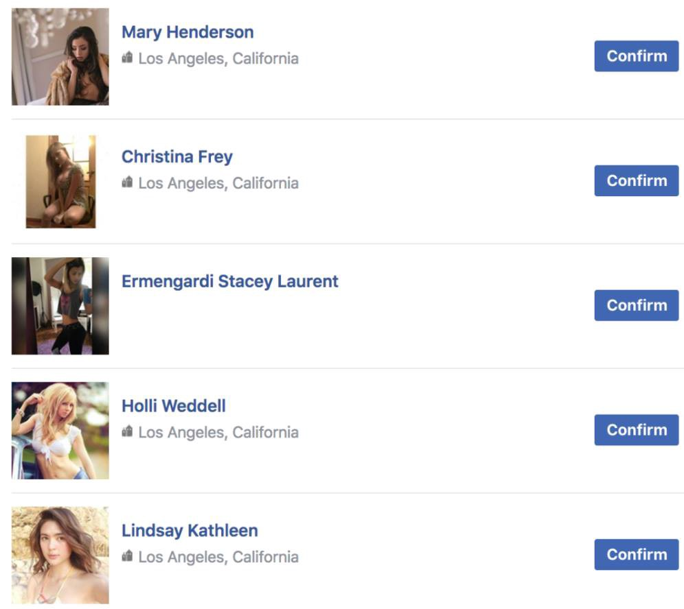Why do fit girls keep sending me friend requests on Facebook?