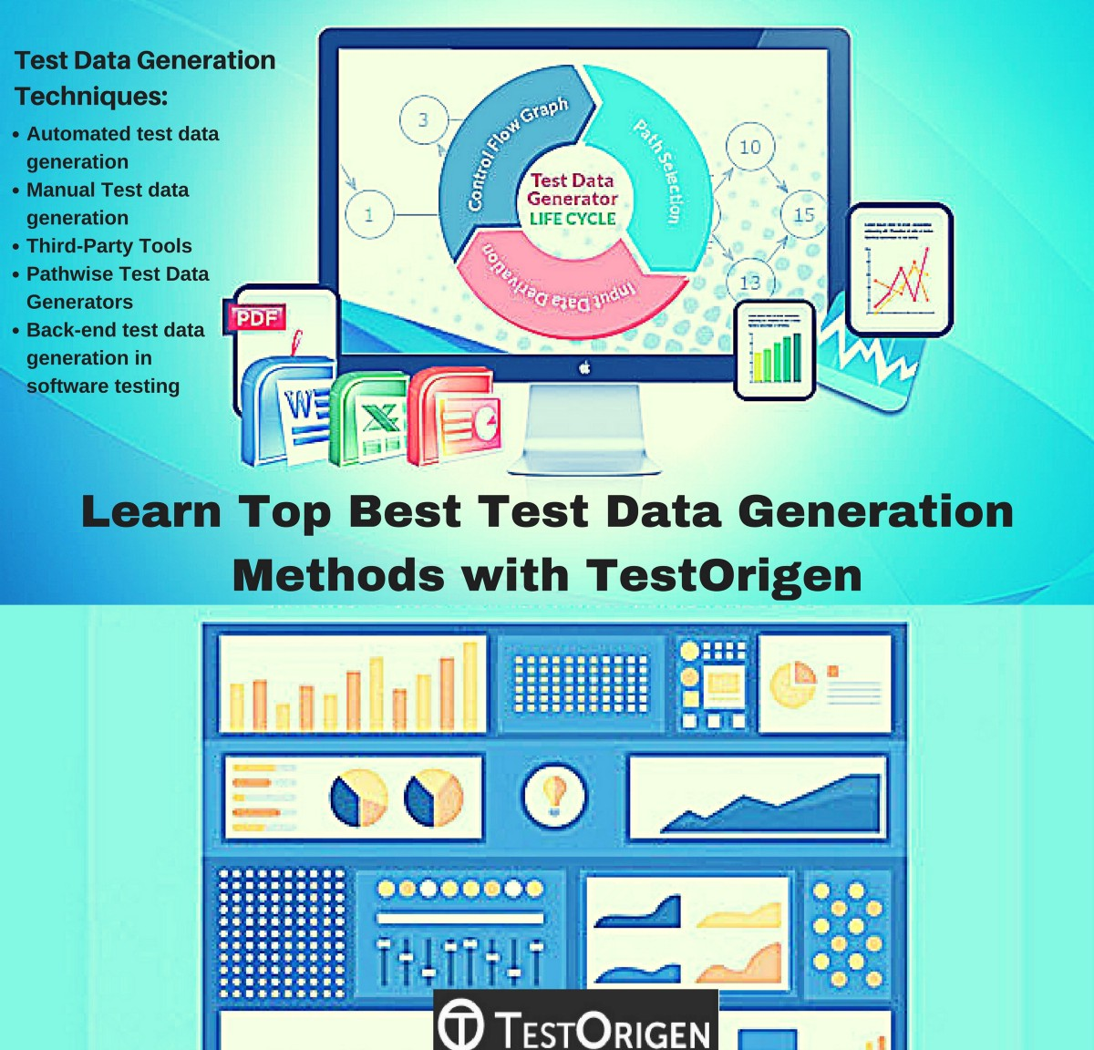 Learn Top Best Test Data Generation Methods with TestOrigen