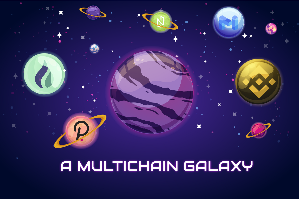 A Galaxy on Multiple Chains
