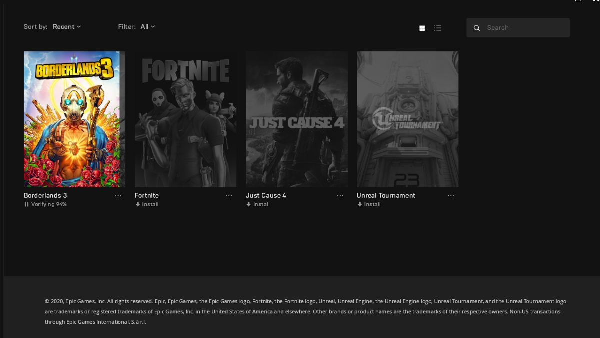 Locate Installed Games for Epic Games (Linux/Windows ...