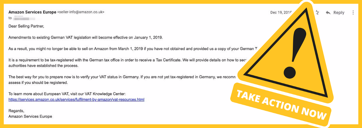 Update New German Vat Law How To Avoid Amazon Ebay Account Suspension By Christoph Prokes Medium