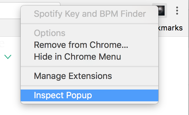 How I wrote my first Google Chrome Extension using Spotify's API