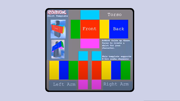 How To Make Your Own Roblox Shirt Template By Crowekevin Medium