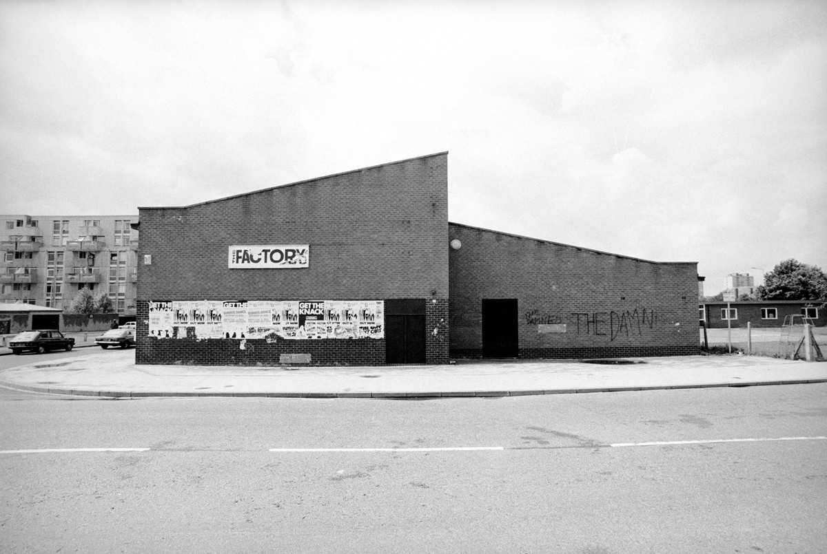 The Factory, where Manchester