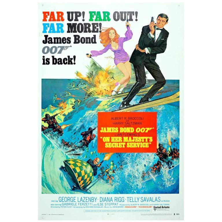 Bond in Review: On Her Majesty's Secret Service - Allen L