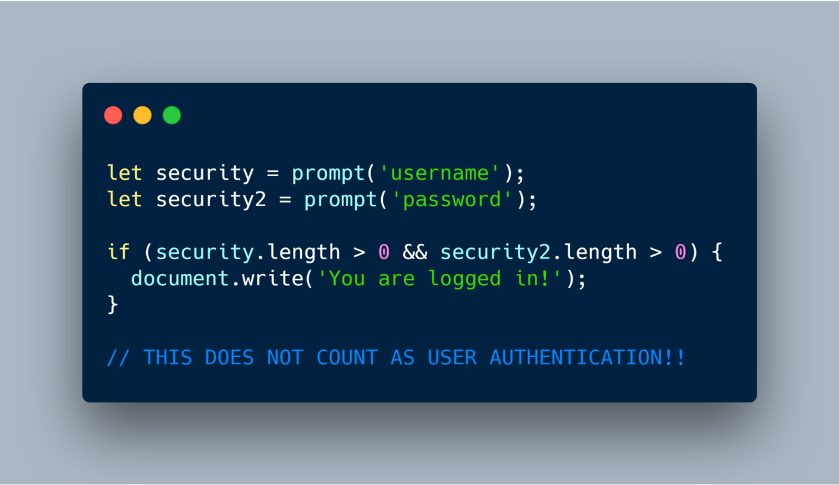Understanding User Authentication in your Web App and how to implement it Part 1 (the high level…