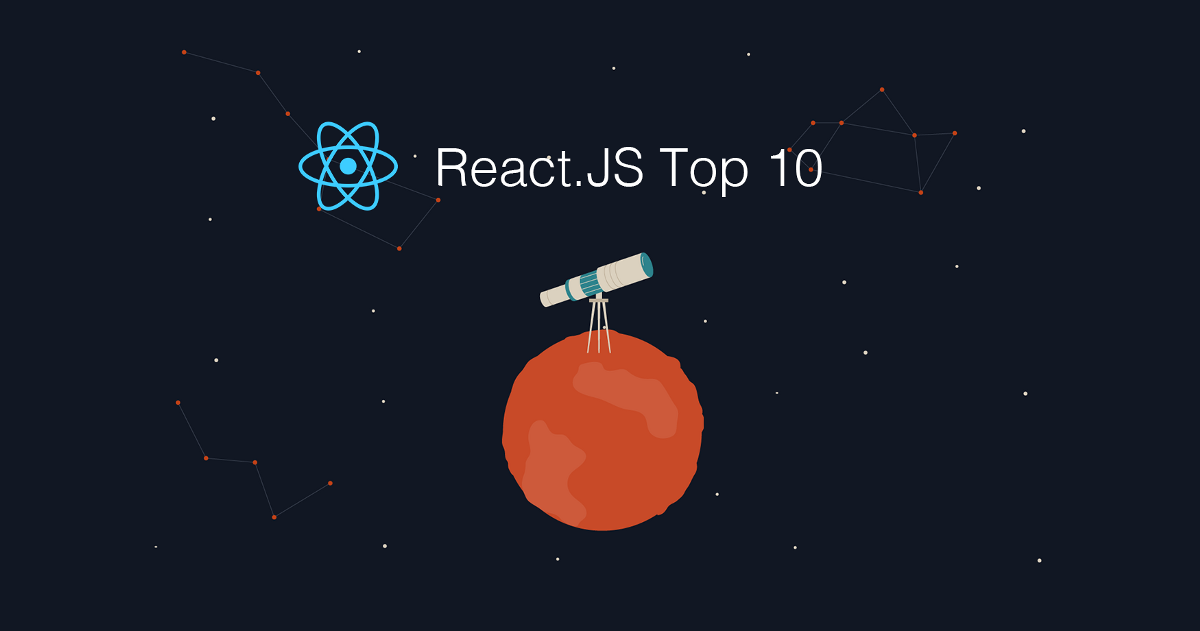 Top 10 React.JS Articles for the Past Month. (v.July)