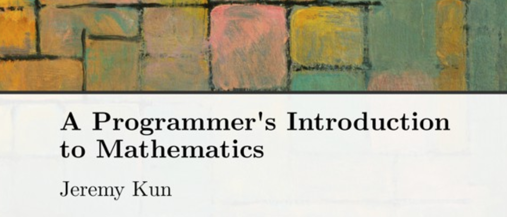 """On self-publishing """"A Programmer's Introduction to Mathematics"""""""