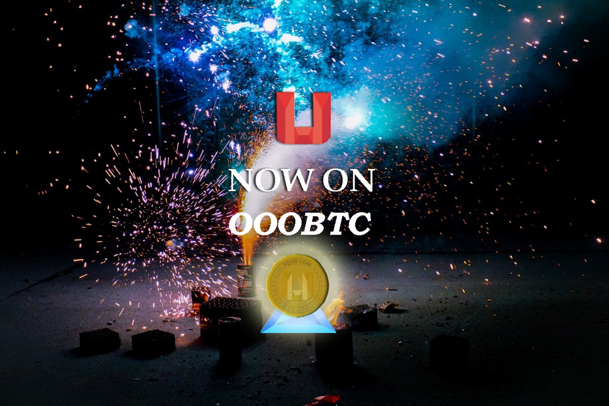 The Uquid Coin is now listed on OOOBTC