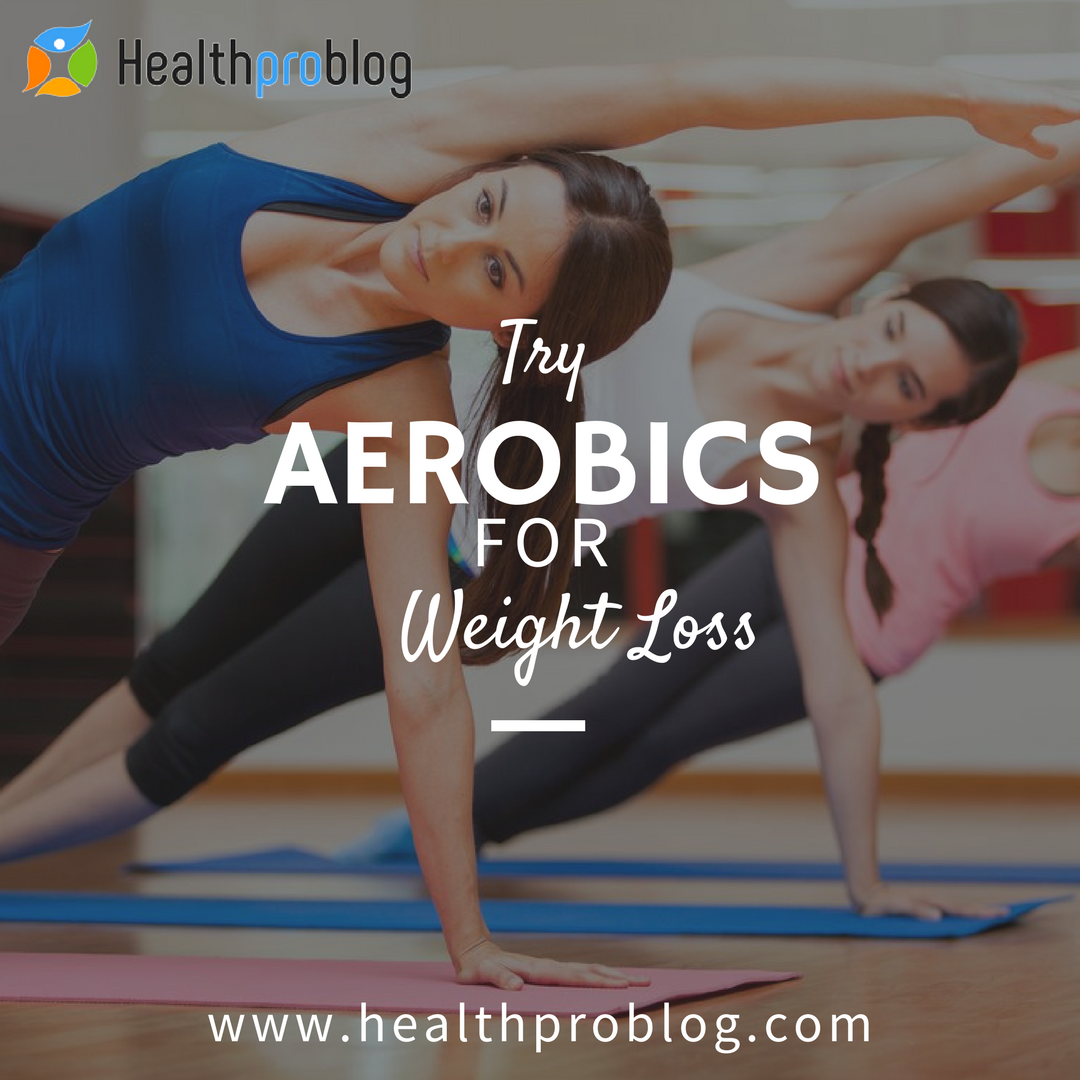 How to lose fat and get flat belly with Aerobics exercises at home
