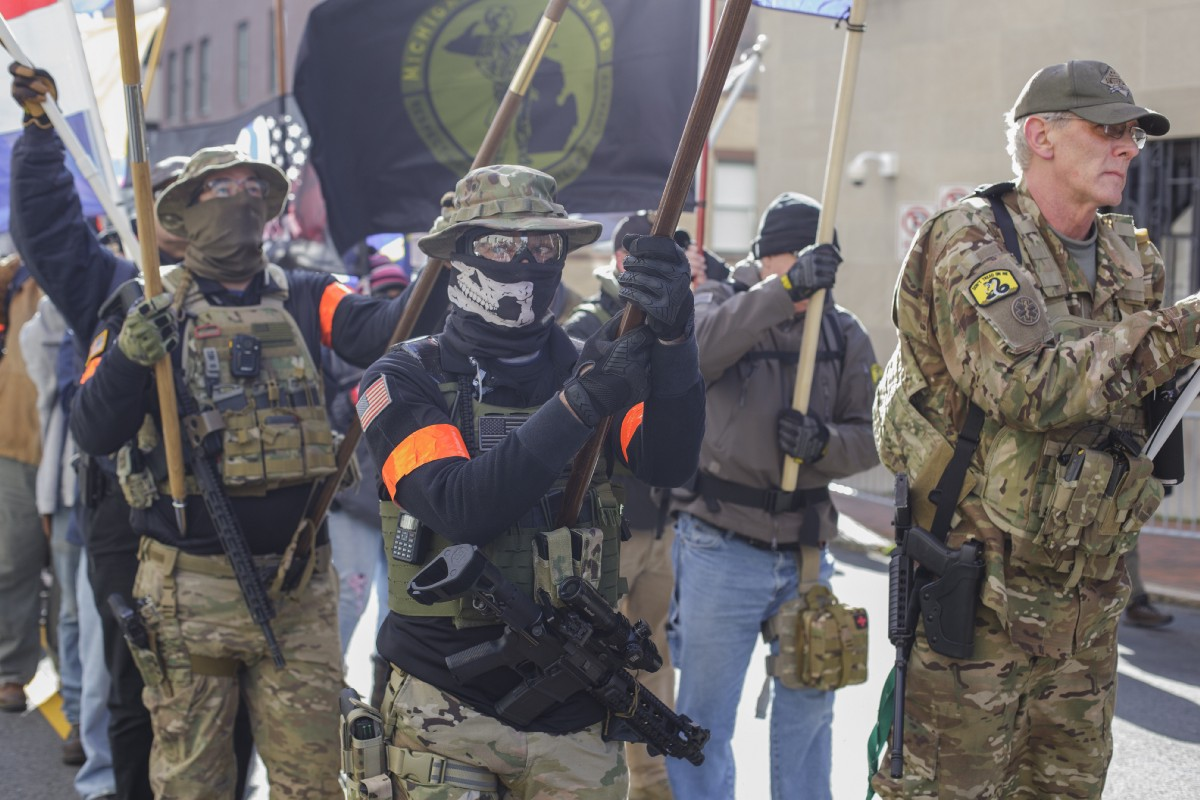 Banished From Facebook, Far-Right Militias Prepare for the Election on Zello and MeWe