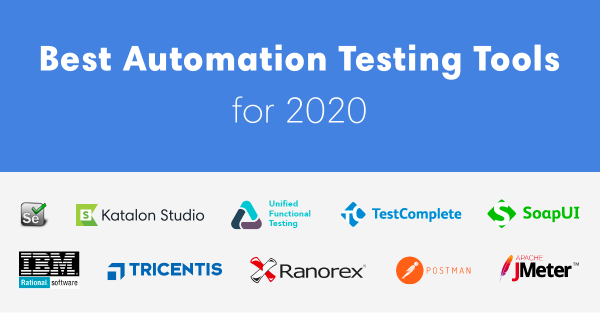 Best Automation Testing Tools for 2020 (Top 10 reviews)