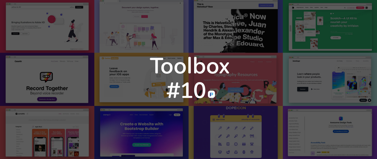 May We Have 26 More Design Tools?