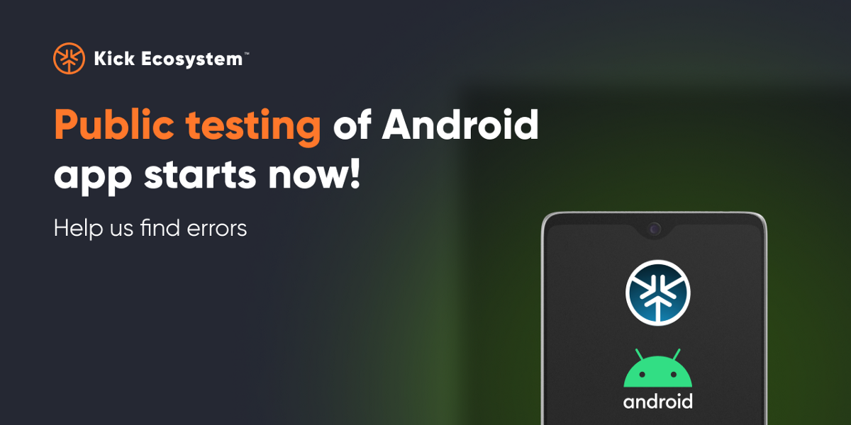 Public testing of Android app starts now!