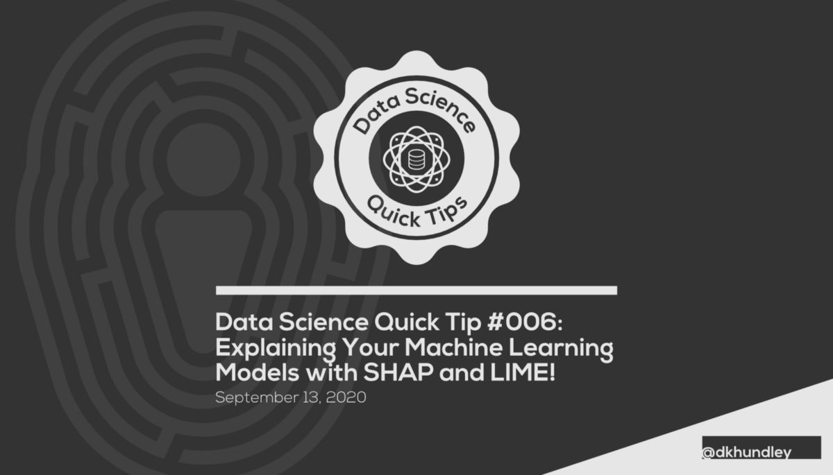 Explaining Your Machine Learning Models with SHAP and LIME!