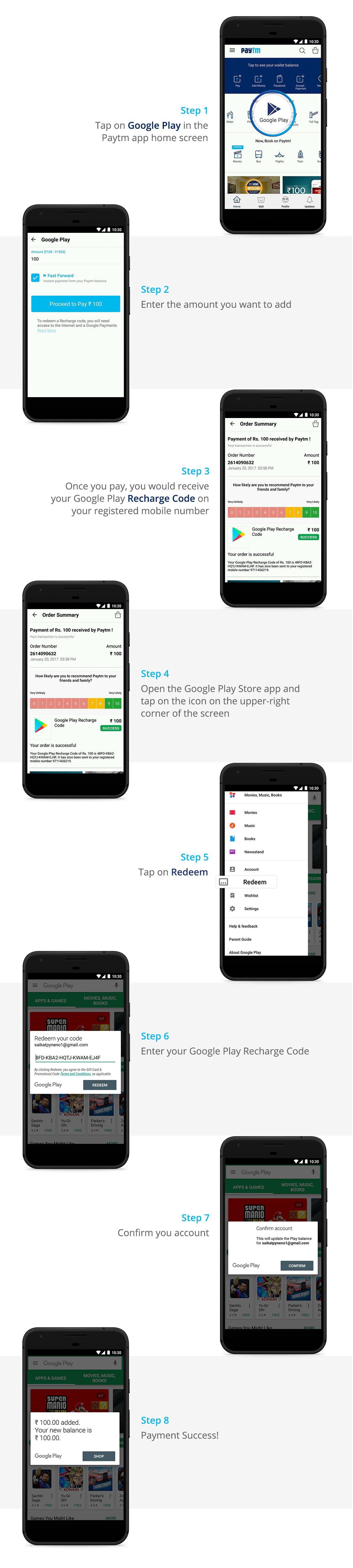 Now recharge your Google Play Account on Paytm - Paytm Blog