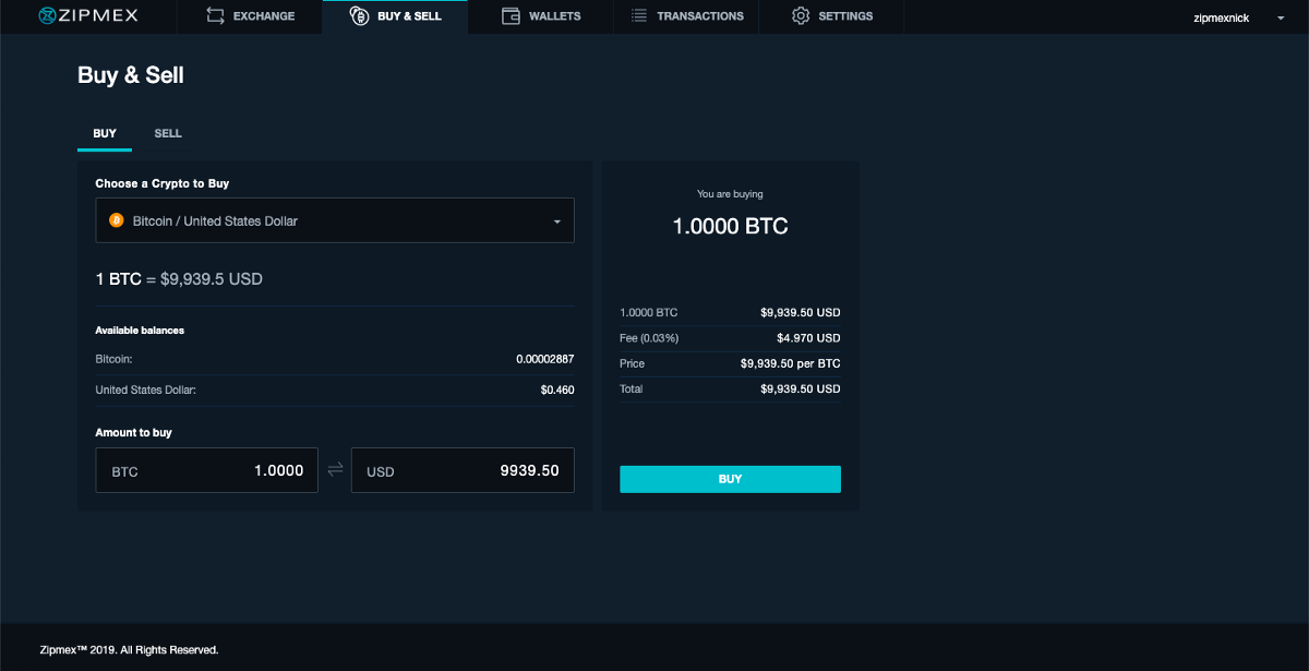 How to Buy and Sell on Zipmex