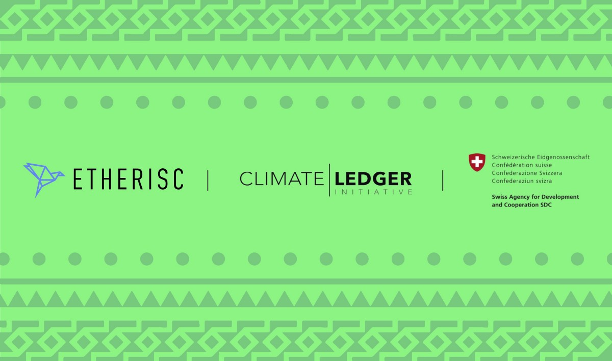 Etherisc earns support from the Climate Ledger Initiative (CLI) and Swiss Agency for Development…
