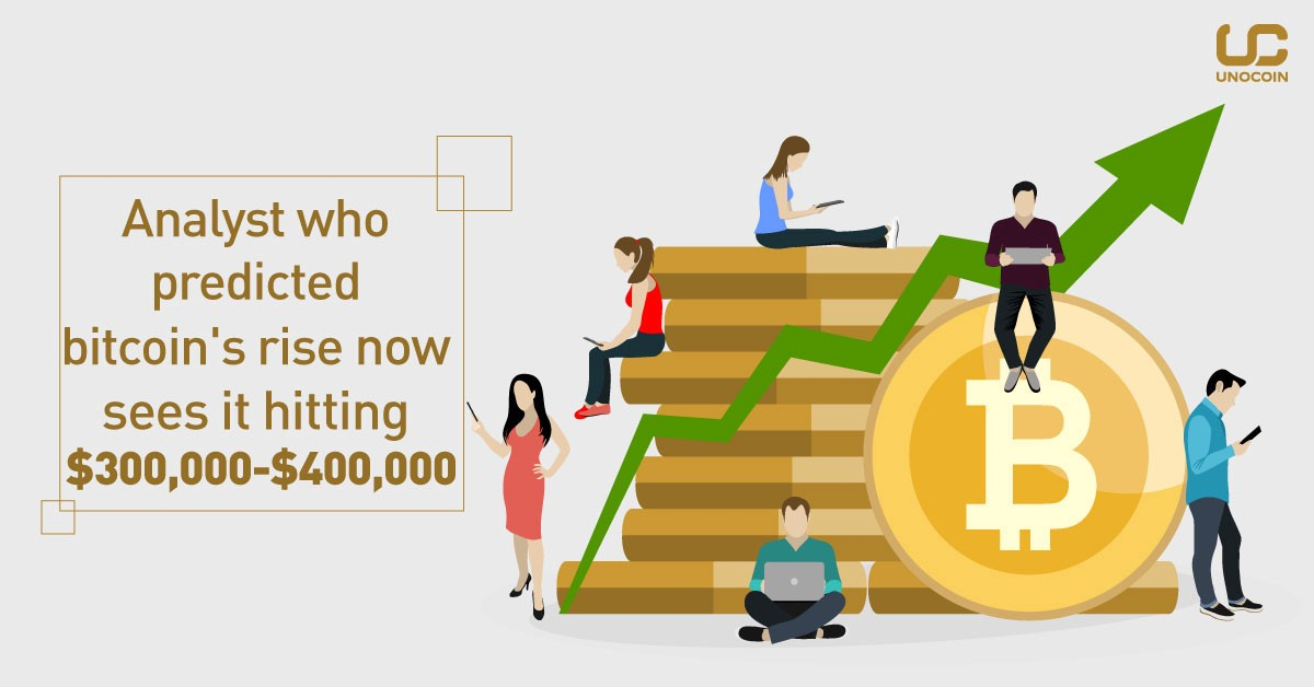Analyst Who Predicted Bitcoin S Rise Now Sees It Hitting 300 000 -