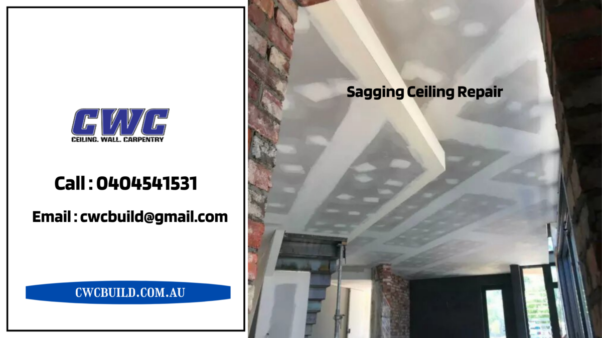 Reasons your Ceiling is Sagging and needs Repair