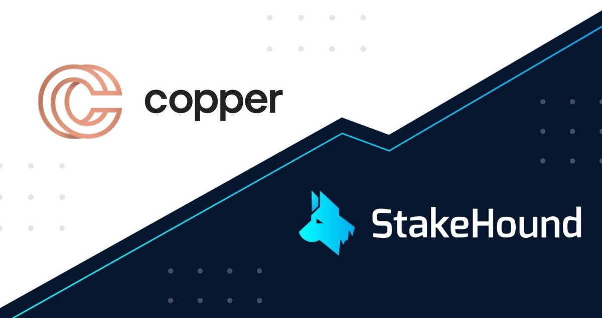 StakeHound's partnership with Copper is the third out of three pillars of the stakedTokens'…