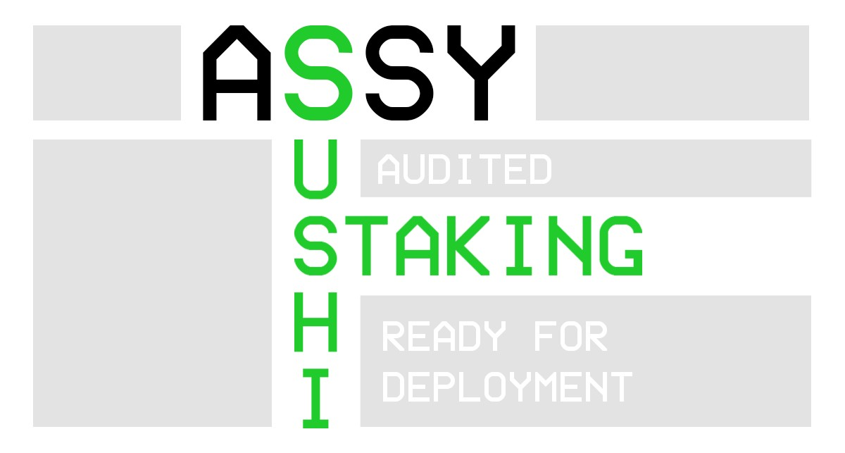 Launch of ASSY Sushi staking