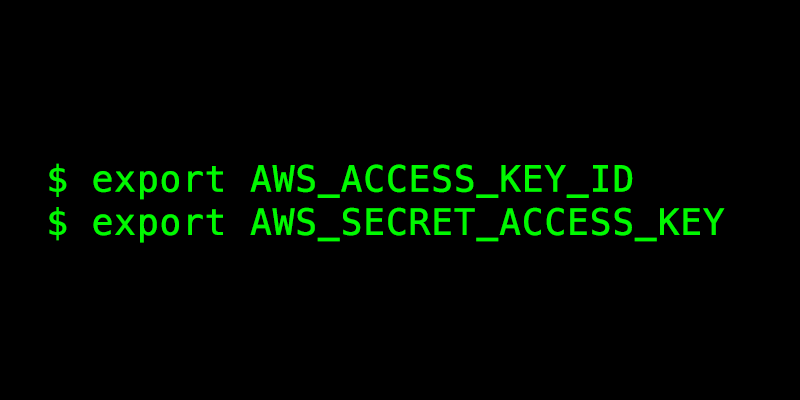 Authenticating to AWS with Environment Variables - Gruntwork