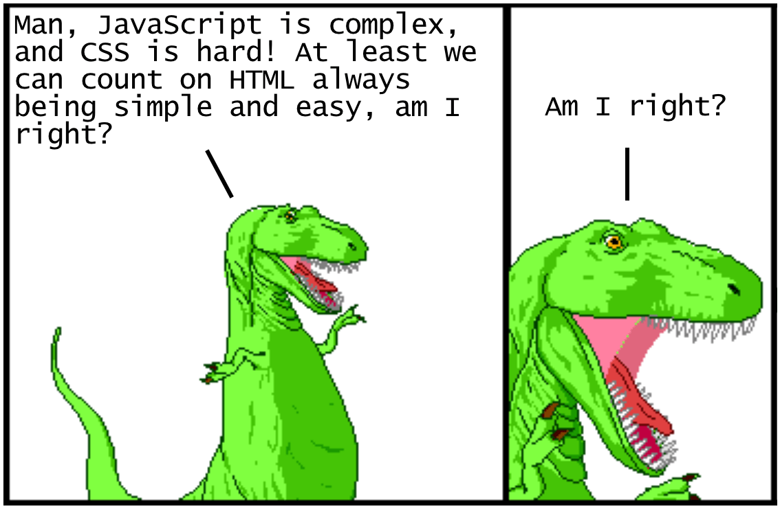 Modern HTML Explained For Dinosaurs - Actualize - Medium