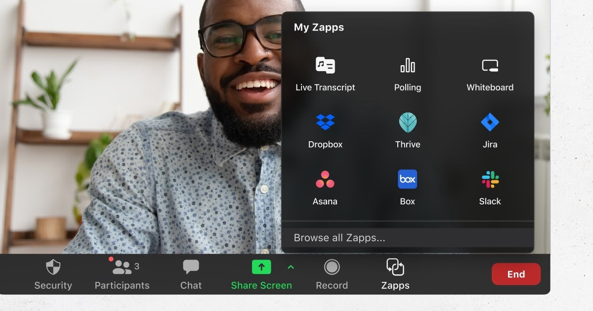 Introducing Zapps, The Platform for Apps on Zoom