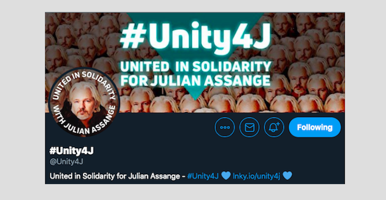 Twitter Restores Assange Activism Account In Response To Backlash