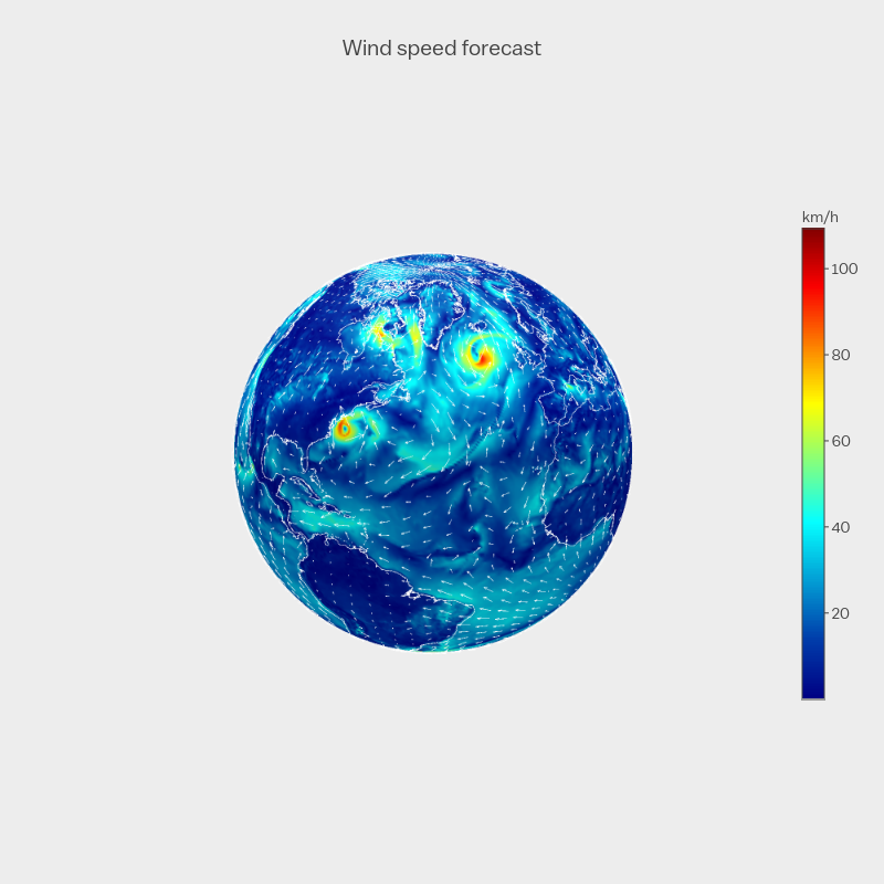 How to Create 2D and 3D Interactive Weather Maps in Python and R