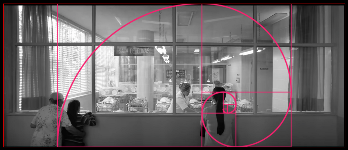 Composition Golden Ratio Alfonso Cuaron drama film 'Roma' | by Gil Perez | Medium