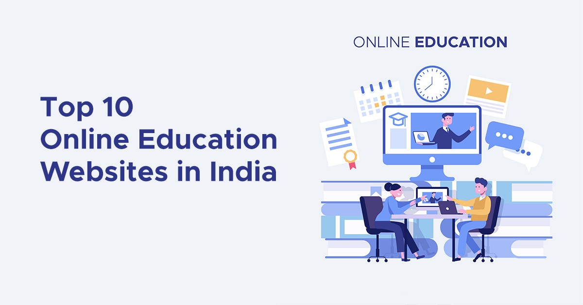 Top 10 E Learning Online Education Website In India Updated 2019 By Dgmark Agency Medium