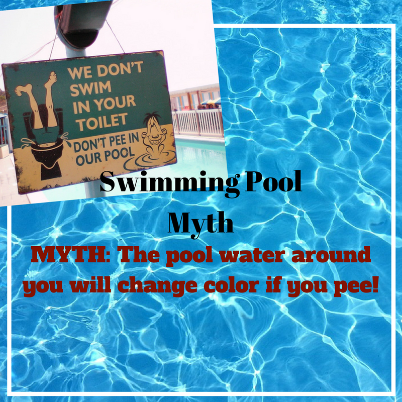 Pee in Swimming Pool Will Change Water Color — Fact or Myth?