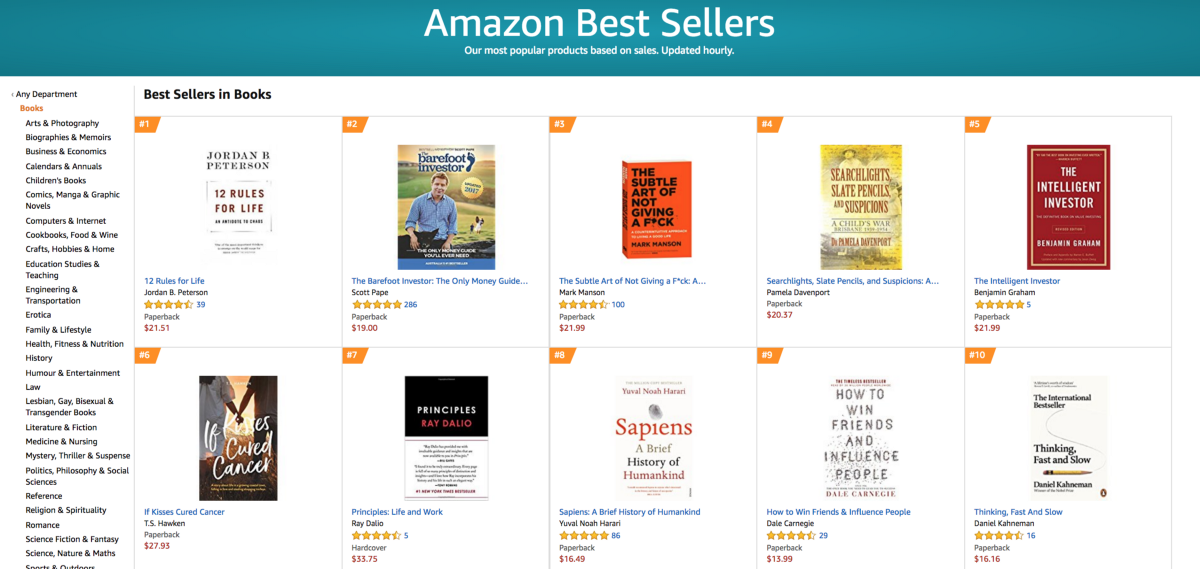 How Many Book Sales Make A Bestseller On Amazon? - The