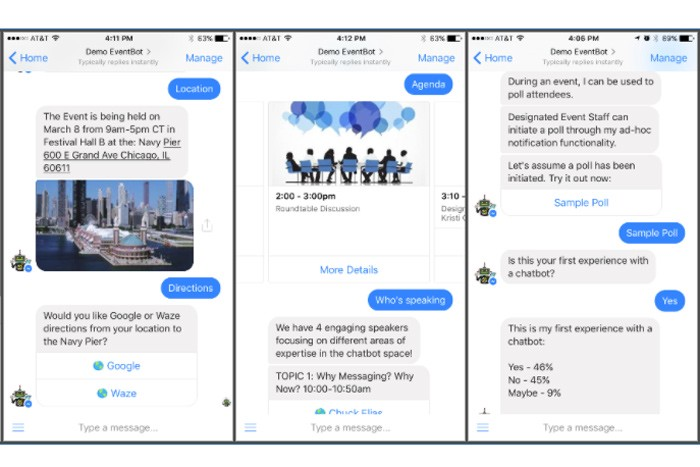 What About a Chatbot Instead of an Event App? - Sciensio