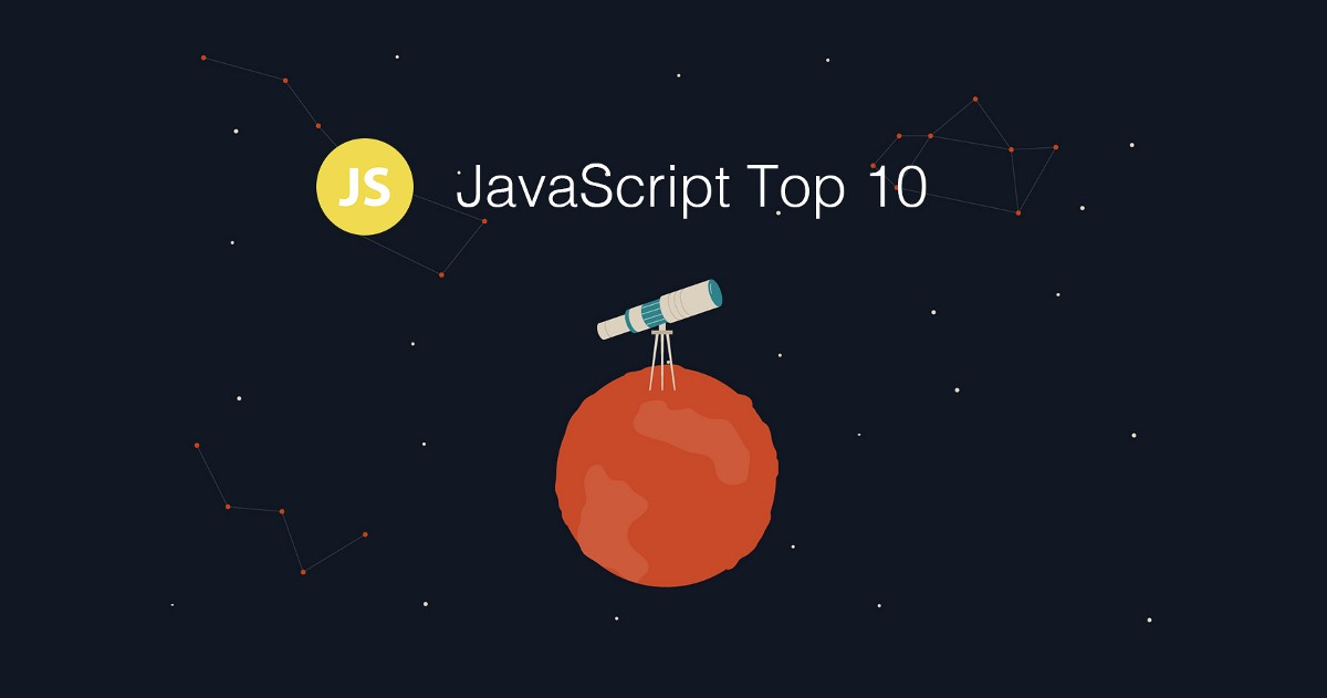 Top 10 JavaScript Articles for the Past Month. (v.July)