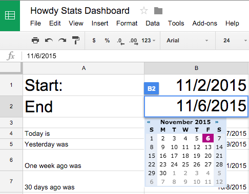 How We're Doing Stats at Howdy