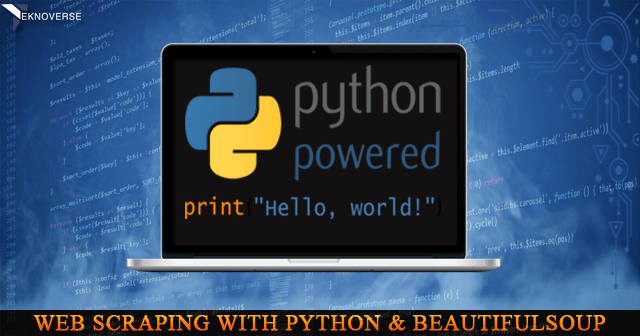 How to Scrape Data from a Website using Python Beautiful Soup