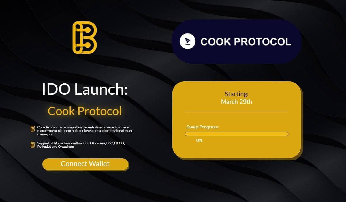 Cook Protocol to Conduct $COOK IDO on BSCPad