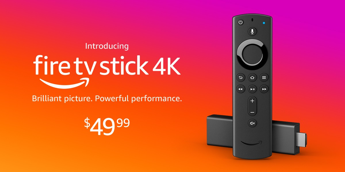 Introducing Fire TV Stick 4K with all-new Alexa Voice Remote