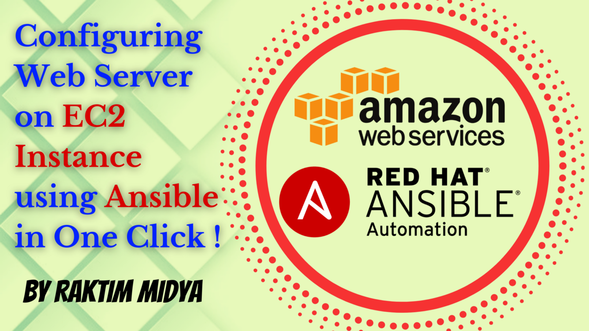 Configuring Web Server on EC2 Instance using Ansible in One Click !
