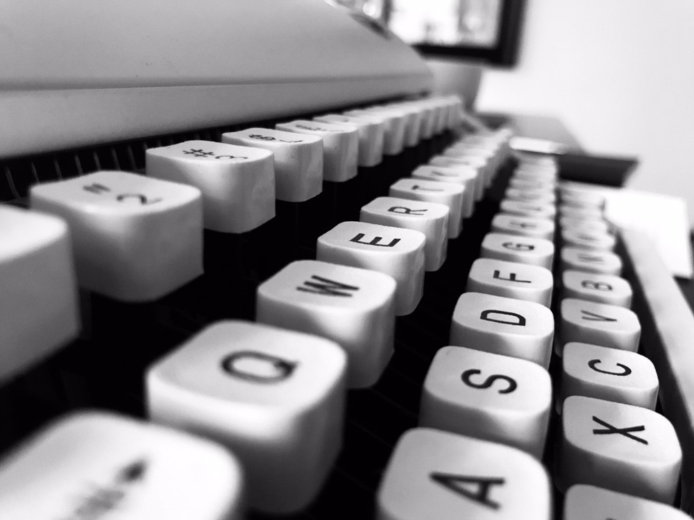 Lesson From a Typewriter. For me, my journey of writing on ...