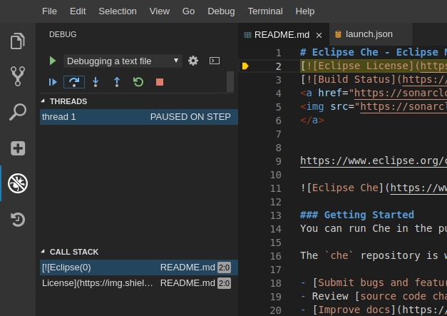 How to Add a New Debugger for Eclipse Che - Eclipse Che Blog