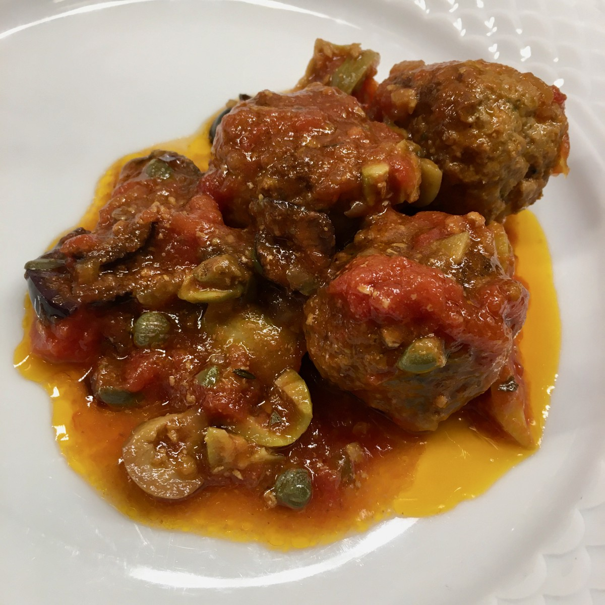 Meatballs Are Better With Capers