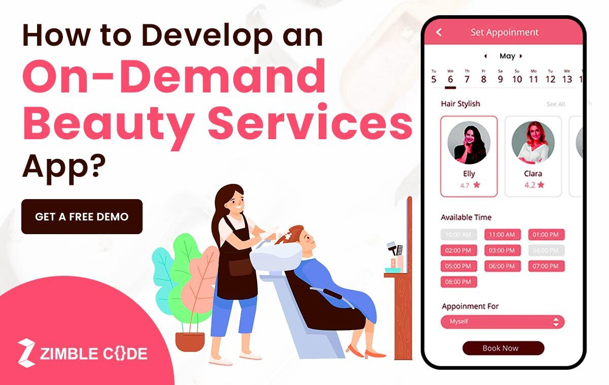 How to develop an on-demand beauty services app?