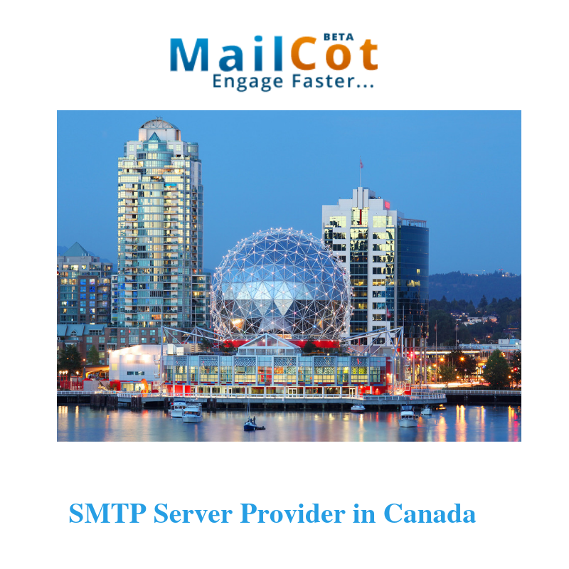 Best SMTP Server Provider in Canada   SMTP Services